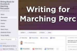 Drumline Music Writing Facebook Group Thumb Lg